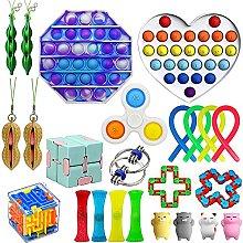 JINSIJU Cheap Fidget Toy Set,Relieves Stress and