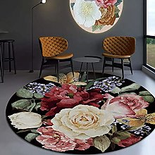 JinSui Round Carpet Area Rugs Area Rug 3D Abstract