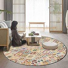 JinSui Round Carpet Area Rugs Area Rug Round