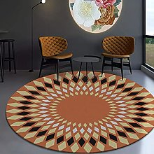 JinSui Round Carpet Area Rugs Bedroom Carpet Floor