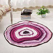 JinSui Round Soft Area Rugs for Living Room Round