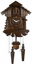 jinyi2016SHOP clocks Brown Handmade Wooden Cuckoo