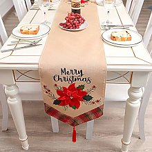 JinYiny Christmas Table Runner 180 x 35cm Xmas