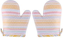 JINYIWJ Oven gloves 1 Pair Silicone Heat Resistant