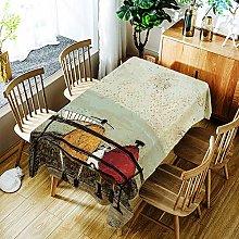 JINYUANshop Table Cloth Waterproof Rectangle