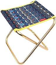 JINYUNDA XIAOLULU Small Folding Footstool Picnic