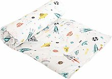 JISEN Baby Blanket Soft Cot Comforter Crib Baby