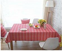 JISHIYU 2 Pack Print Rectangle Tablecloth