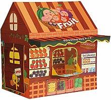 JISHIYU Kids Tent Childrens Pop Up Play Tent Fruit