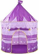 JISHIYU Pink Pop Up Portable Foldable Play Tent