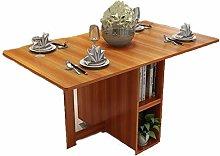 JISHIYU-Q Light Brown Dining Table Picnic Table