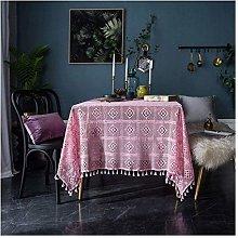 JISHIYU Rustic Floral Tablecloth Rectangle