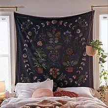 JIUXU Mandala Wall Hangings,moon Bedspread