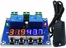 JIUY ZFX-M452 DC 12V LED Digital Thermostat