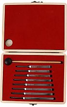 JIUZUI 8 Pcs Tuning Fork Steel Standard Classical