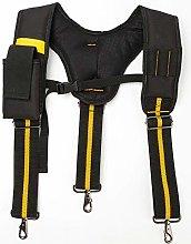 JIUZUI Men Women Adjustable Elastic Suspenders