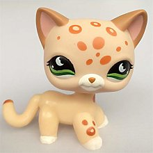 JiYanTang Pet Shop Lps Toys Cat Standing Rare
