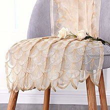 Jiyoyo Embroidered Lace Sheer Curtain for Living