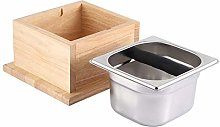 JJ. Accessory Coffee Knock Box Stainless Steel