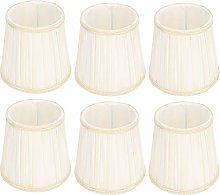 JJ. Accessory Lamp Shades 6Pcs Modern Fabric Cloth