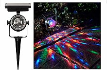 JJ.Accessory Solar Projection Lamp Rotatable