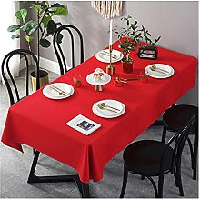 JJRYPSH Cotton Tablecloth Stain Wrinkle-Resistant