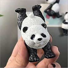 JJSCCMDZ Fridge magnet Cartoon Yoga Panda Fridge