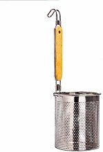 JJSFJH Stainless Steel Food Strainer Colander With