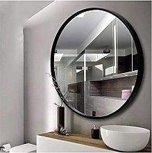 JJYGONG Bathroom Wall Mirror   Round Hanging