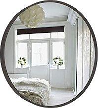 JJYGONG Bathroom Wall Mirrors Decorative, Round