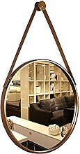 JJYGONG Round Hanging Mirrors for Wall Decor -