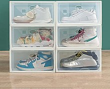 JJYGONG Shoe Organizer Bins for Entryway, Plastic