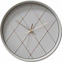 JJZXD Silent Decorative Wall Clock, Kitchen Wall