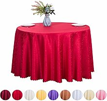 JK Home Jacquard Tablecloth Polyester Round Table