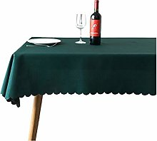 JK Home Tablecloth Solid Polyester Table Cover for