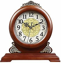 JKCKHA Bright mantel clocks Desk shelf clocks