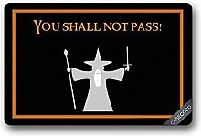 Jkimiiscute Custom Lord Of The Rings Doormat Door