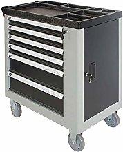 Jklt Practical Tool Cart 6-drawer Tool Cabinet