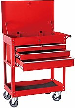 Jklt Practical Tool Cart Storage Space Roller Tool