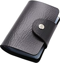 JKXWX Business Card Holder Case PU Function Credit