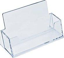 JKXWX Business Card Holder Desk Clear Desk Shelf