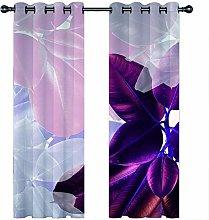 JKZHILOVE Blackout Curtains 2 Panels Set Purple