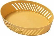 JKZX Drain Basket Fruit Plate Household Living