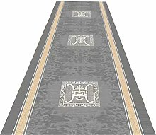 JLCP Carpet Runners for Hallways, Soft Grey Series
