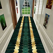 JLCP Long Runners Rugs for Hallway, Luxury Green