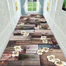 JLCP Very Long Carpet Runners for Hallway, Retro