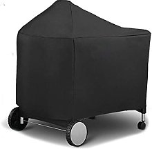 JLKDF BBQ Cover Black Barbeque BBQ Grill Cover