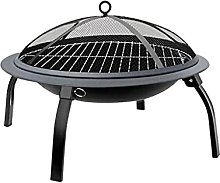 JLKDF Folding Barbecue Grill Outdoor Campfire