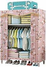 JLKDF HWG Fabric Wardrobes Double Folding