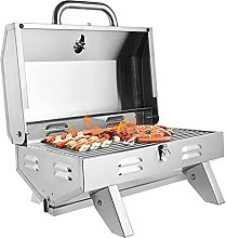 JLKDF Stainless Stee Gas Barbecue BBQ Grill Single